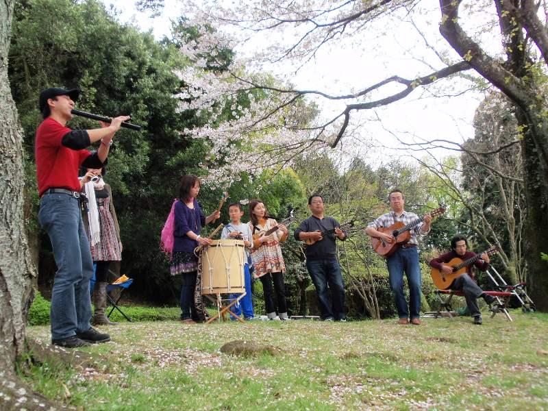 2010/04/10 桜満開お花見ライブ