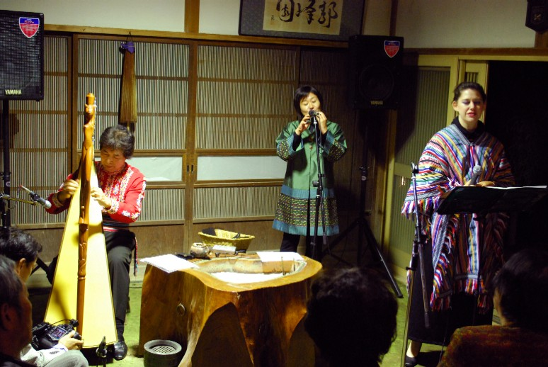 2008/11/08 アルパ&オカリナ ディナーコンサート