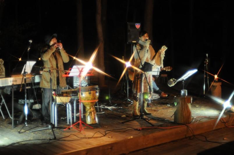 2008/11/01 自然と遊ぼう森フェスタ キャンドルナイト
