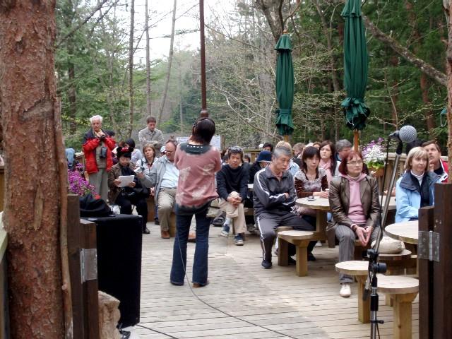 2008/04/29 コカリナのお店ミニコンサート